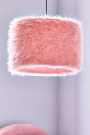 Pink Faux Fur Easy Fit Shade