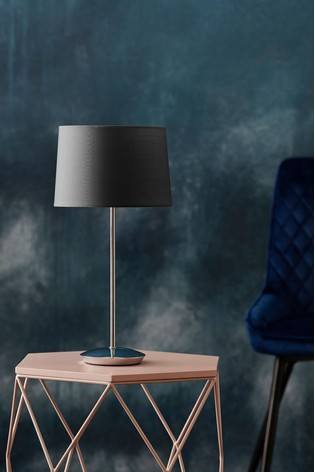 Charcoal Dark Jenna Table Lamp
