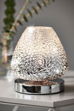 Chrome Monroe Touch Small Table Lamp