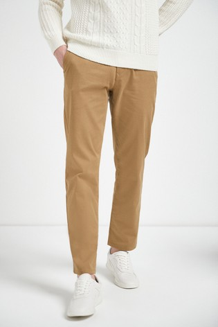 Sand Loose Fit Stretch Chinos