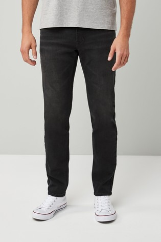 Black Slim Fit Motion Flex Stretch Jeans