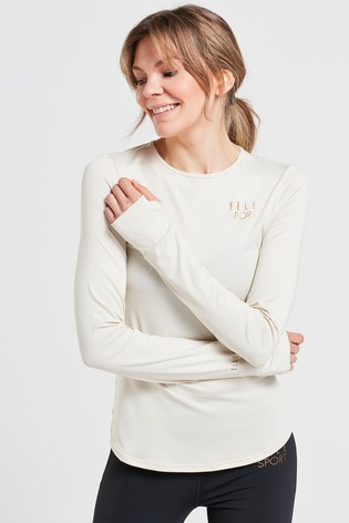 ELLE Sport Long Sleeve Yoga Top