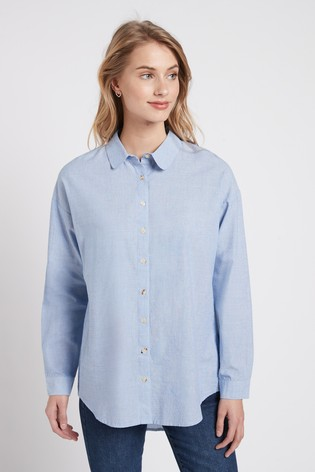 Chambray Casual Shirt