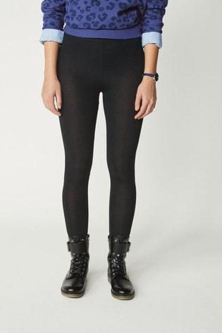 Black Full Length Leggings