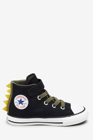 Converse Dino Chuck Taylor High Infant Trainers