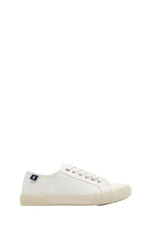 Joules Coast Canvas Trainers