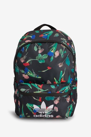 7532911af6 Buy adidas Originals Black Floral Backpack from Next USA