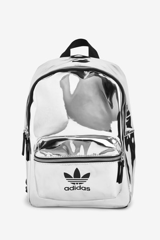 Damski plecak Adidas originals srebrny
