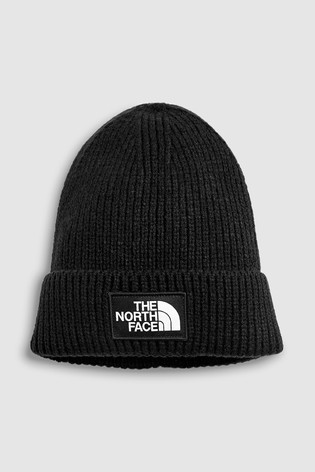 The North Face® Black Cable Minna Beanie Hat