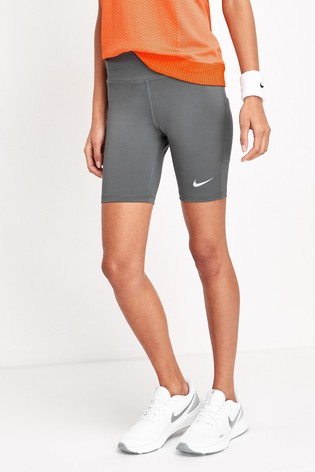 """Nike Grey Fast 7"""" Run Shorts"""