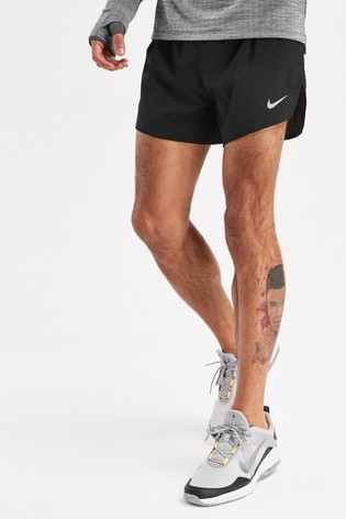 "Nike Black Race Day 4"" Fast Shorts"