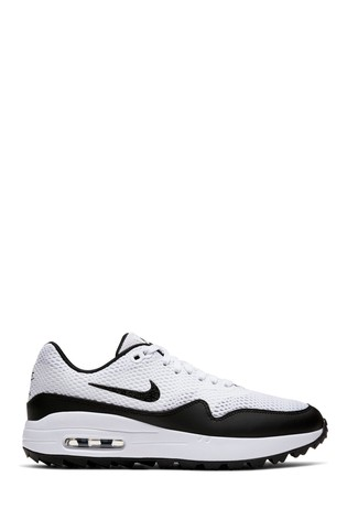 Buy Nike Golf White Air Max 1 Trainers