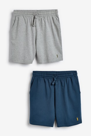 Blue/Grey Shorts Two Pack Lightweight Loungewear
