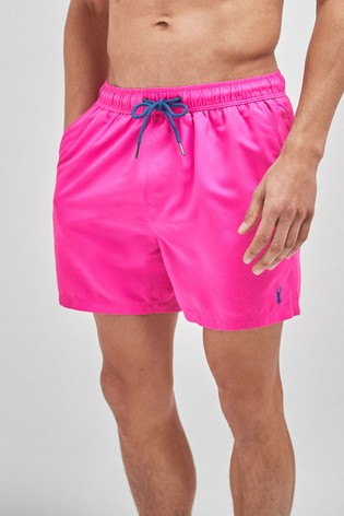 Pink Essential Swim Shorts
