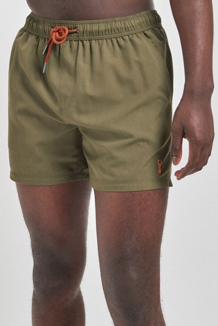 Khaki Essential Swim Shorts