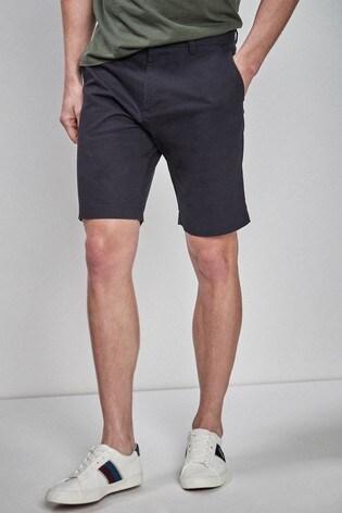 Navy Classic Chino Shorts