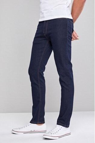 Dark Ink Slim Fit Jeans With Stretch