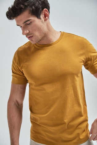 Olive Slim Fit Crew Neck T-Shirt