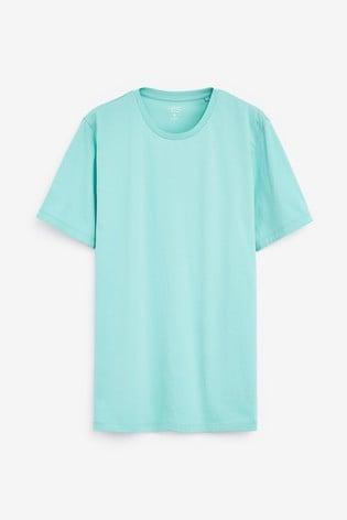 Aqua Slim Fit Crew Neck T-Shirt