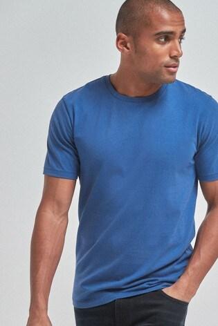 Cobalt Slim Fit Crew Neck T-Shirt