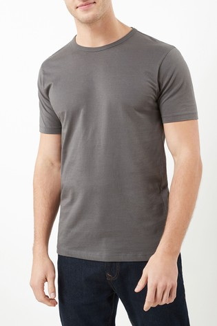 Charcoal Slim Fit Crew Neck T-Shirt