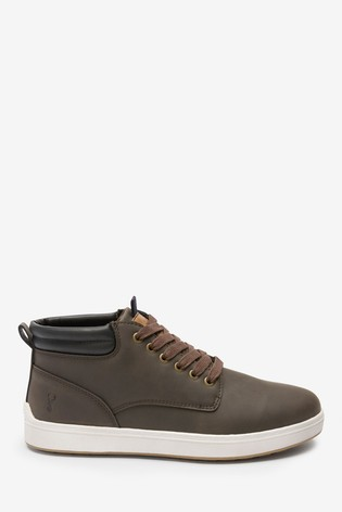 Brown Cupsole Boots