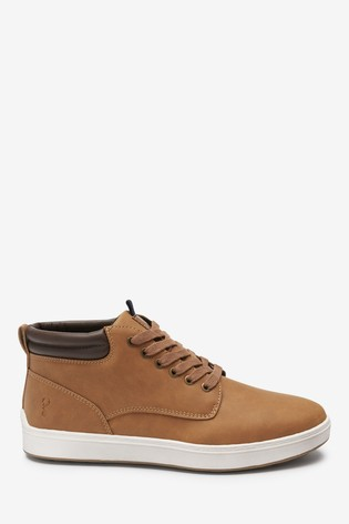 Tan Cupsole Boots