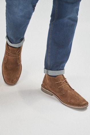 Ginger Desert Boots