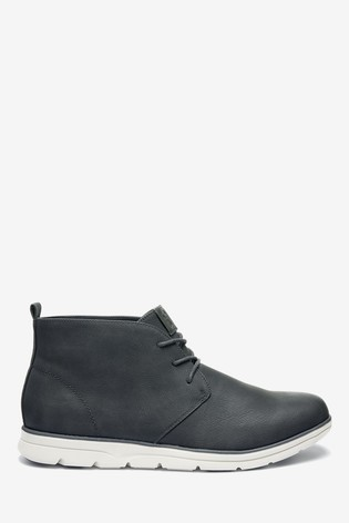 Charcoal Low Sport Chukka Boots