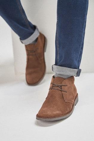 Dark Brown Desert Boots