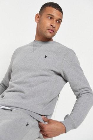 Grey Marl Crew Sweatshirt Jersey