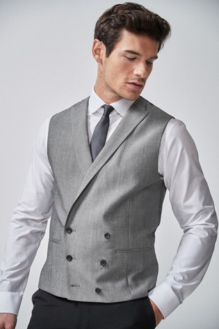 Light Grey Morning Suit: Waistcoat