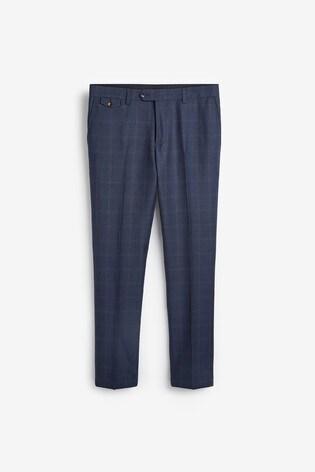 Joules Suit: Slim Fit Trousers
