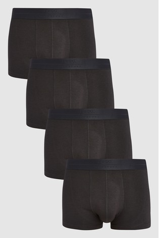 Signature Black Bamboo Hipsters Four Pack