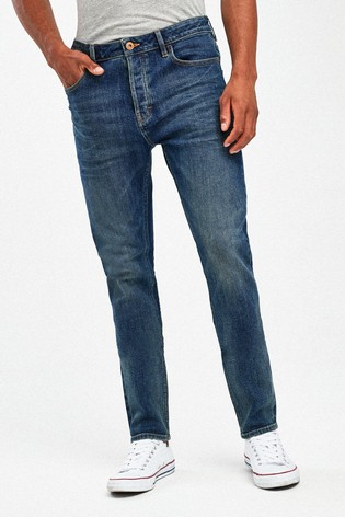 Dirty Denim Skinny Fit Jean With Stretch