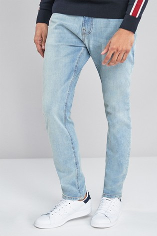 Light Blue Skinny Fit Jeans With Stretch