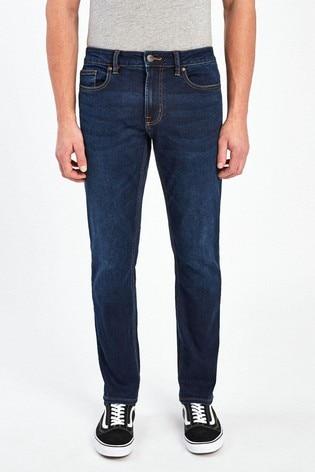 Dark Blue Skinny Fit Motion Flex Stretch Jeans