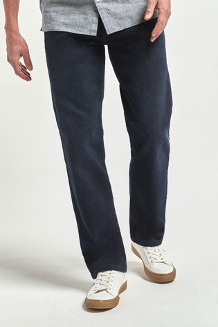 Dark Blue Loose Fit Soft Touch Jeans With TENCEL™