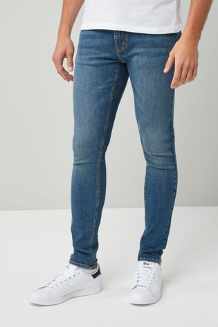 Light Blue Skinny Fit Motion Flex Stretch Jeans