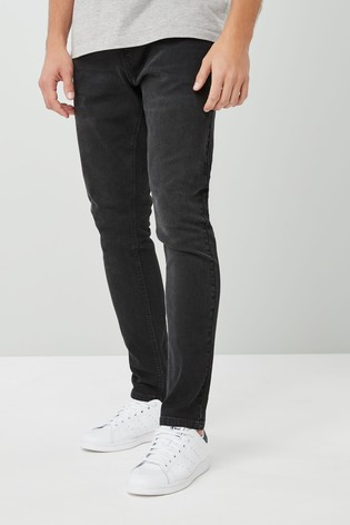 Black Skinny Fit Jeans With Stretch