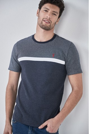 Navy Block Soft Touch Regular Fit T-Shirt