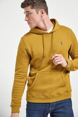 Yellow Overhead Hoody