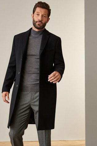 Black Nova Fides Signature Overcoat