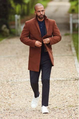 Tan Epsom Coat