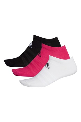 adidas Adult Mixed Low Trainer Socks 3 Pack
