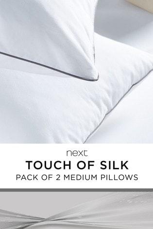 Set of 2 Touch Of Silk Medium Pillows