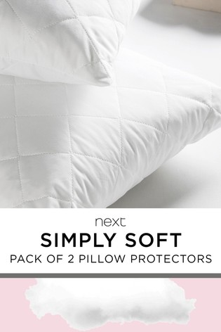 2 Pack Simply Soft Pillow Protectors