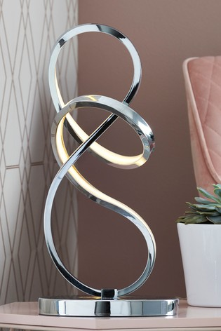 Sculptural LED Touch Table Lamp