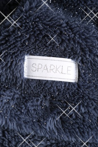 Sparkle Fleece Throw