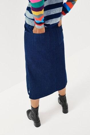 Mix/LF Markey Denim Pencil Skirt